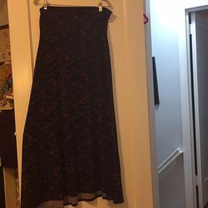 Large Lularoe Maxi skirt